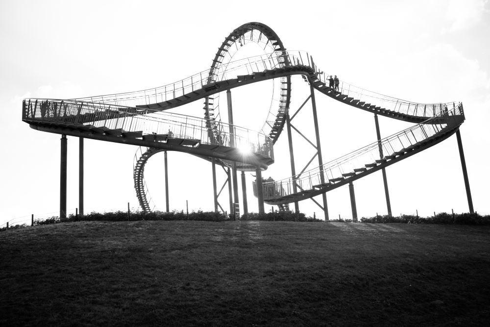 Photo of Tiger & Turtle – Magic Mountain in Duisburg, Germany