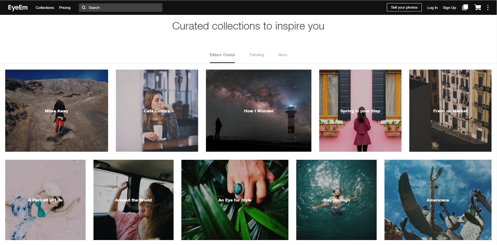 EyeEm Website